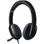 Slušalice sa mikrofonom Logitech H540, USB/
