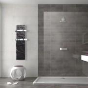 Valderoma Slim sèche-serviettes Valderoma 800W Ardoise blanche