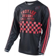 Troy Lee Designs Super Retro Jersey Preto/Vermelho XL