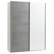 JYSK Kledingkast TARP 151x201 betonlook/wit