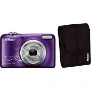 NIKON Coolpix A10 Kompakt Kamera, inkl. Tasche, 16,1 Megapixel, 5x opt. Zoom
