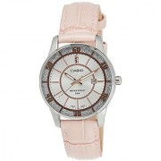 Casio Enticer Analog Silver Dial Womens Watch - Ltp-1358L-4Avdf (A808)
