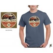 "Sniper Men ""Old school"" T-Shirt (Denim)"