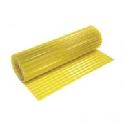 Hullámlemez sárga 150cm/20m üvegszálas