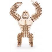 Kikkerland Gadget 3D Wooden Puzzles - Bruin
