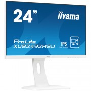 "iiyama Prolite XUB2492HSU-W1 23.8"" Monitor VGA, HDMI, DisplayPort, USB, Audio"