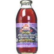 Bragg Bev manzana sidra uva y Acai 16 onzas paquete de 12