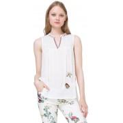 Desigual Bluză femei Blus Susi 73B2YC4 1001 XL