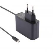 Voor Nintendo Switch NS spel Console Wall Adapter Oplader laderadapter opladen van macht DC 5V kabel lengte: 1.5 m EU Plug(Black)