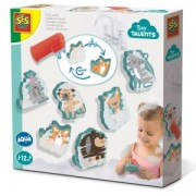 Детски занимателен комплект Измиващи се животни SES, 0813084