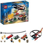 LEGO City Fire 60248 Sürgősségi tűzoltó helikopter