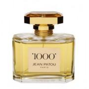 1000 Jean Patou 75 ml Spray Eau de Toilette (Senza Scatola)