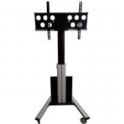 Elektrisch höhenverstellbarer Monitor-Rollwagen MRE55-230 bis 49