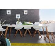 Jedálenský stôl SCANIA MEISTER 200cm - biela