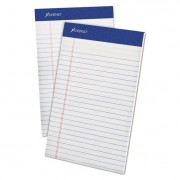 Mead Jr. Legal Ruled Pad, 5 X 8, White, 50 Sheets, 4 Pads/pack