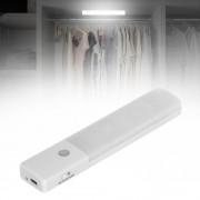 PIR mozgásérzékelő Éjjeli világító szekrény fali lámpa - Hideg fehér fény