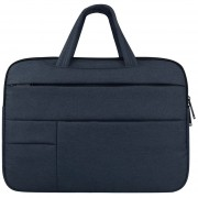 Universal Multiples Bolsillos Wearable Oxford Tela Suave Portable Agradable Manejar Laptop Tablet Bolsa, De 13,3 Pulgadas Y Debajo De MacBook, Samsung, Lenovo, Sony, Dell Alienware, Chuwi, Asus, HP (Navy)