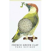 The Konjac Sponge Company Konjac Mini Pore Refiner Woodland Woodpecker with Green Clay - 1 Stk