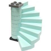 LEGO Frozen Items Spiral Staircase [Pastel Aqua Loose]