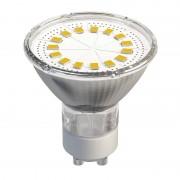 LED žiarovka 15 SMD 2835 3,5W GU10 teplá biela