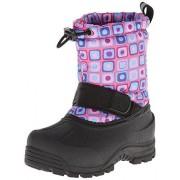 Northside Frosty Winter Boot (Toddler/Little Kid/Big Kid),Pink/Turquoise,5 M US Big Kid