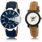 The Shopoholic Blue White Combo New Collection Blue And White Dial Analog Watch For Boys And Girls Fashion Watches For Womens