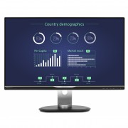 Philips monitor 258B6QUEB/00 25\ panel IPS, WQHD, D-SubDVIDP