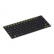 Kit Mini Tastatura Bluetooth Universala Negru (aluminiu)