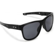 Oakley CROSSRANGE R Wayfarer Sunglass(Grey)