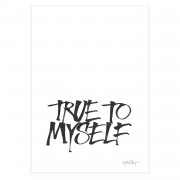 Ylva Skarp-True To Myself Poster A4