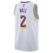 Nike Мужское джерси Nike НБА Lonzo Ball Association Edition Swingman (Los Angeles Lakers) с технологией NikeConnect