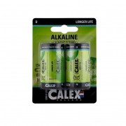 Calex batterijen D 2 stuks