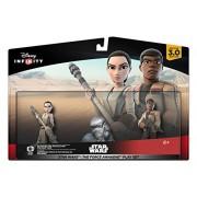 Disney Infinity Star Wars: El Despertar de la Fuerza Play Set, Incluye las Figuras Rey y Finn Standard Edition