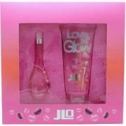 Комплект Дженифър Лопез - Love at First Glow, 30 мл. парфюм и 200 мл. лосион за тяло, Jennifer Lopez