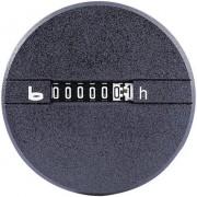 Contor mecanic ore de functionare, 12 - 24 V/DC, 0 - 99.999,99, rotund, Bauser 266.2