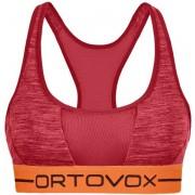 Ortovox 185 Rock'n Wool Sport - reggiseno sportivo - donna - Red
