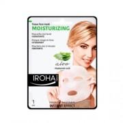 Iroha Hydratační látková maska s aloe vera a kyselinou hyaluronovou (Moisturizing Tissue Face Mask) 23 ml