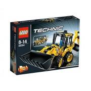 Lego Technic Mini Backhoe Loader Building Set