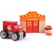 Set de constructie - Sectia de pompieri
