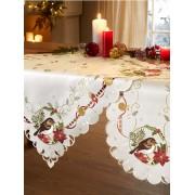 Schäfer Linge de table 'Sena' Schäfer Crème/rouge