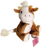 Tan And White Cow Precious Moments Tender Tails Bean Bag Plush