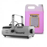 Beamz S1500 Máquina de niebla incl. 5 litros de líquido de niebla 1500 W DMX (PL-10857-6607)