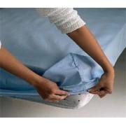 Sábana bajera ajustable algodón/poliester