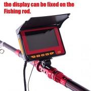 GEOPONICS 20m Profesional buscador de los Pescados DVR Submarino de 4,3 Pulgadas de Pantalla Grande a Color TFT Monitor FishingCamera FE5