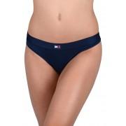 Tommy Hilfiger Dámské kalhotky Flag Core Ctn Thong Navy Blazer UW0UW01051-416 L