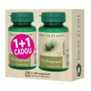 Herboprostal 1+1 gratis 60+60cpr DACIA PLANT
