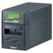 LEGRAND NIKY-S 1500 VA 5 perc BEM: C14 KIM: 6xC13 RS232 vonali interaktív tisztán szinuszos szünetmentes torony (UPS)