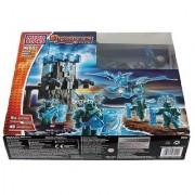 Mega Bloks Dragons Elementals Water Ghost Dragon 98002 - Rare