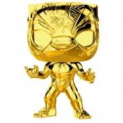 Pop! Vinyl Figura Funko Pop! Black Panther Dorado - 10.º Aniversario Marvel Studios - Marvel