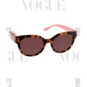 Juicy Couture Cat-eye Sunglasses(Brown)